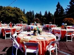 Portland Oregon Wedding Venue, Garden, Rustic, Farm Wedding, String lights, outdoor patio, venue