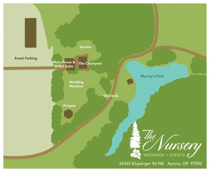 Rustic venue, farm venue, nursery, pergola, arbor, wedding arch, huppah, garden, parking, pond, lake, bridal suite, grooms suite, wedding